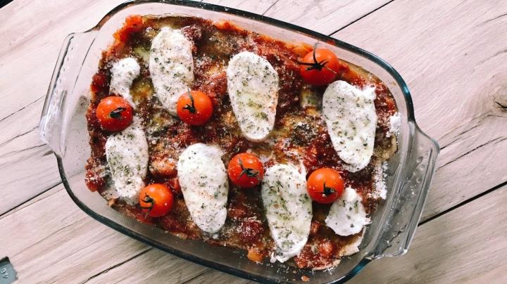 Lasagnes parmigiana